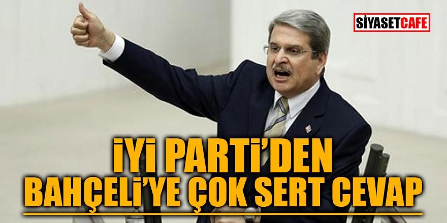 İYİ Parti'den Bahçeli'ye çok sert cevap!