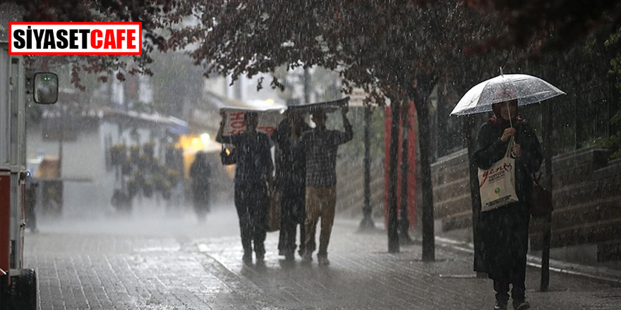 Meteoroloji İstanbulluları uyardı! Öğleden sonra kuvvetli yağış geliyor