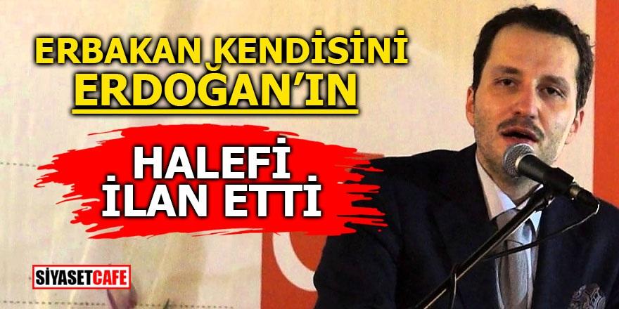 Erbakan kendisini Erdoğan'ın halefi ilan etti