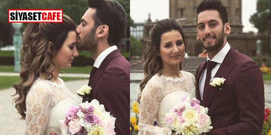 Hakan Çalhanoğlu ile Sinem Çalhanoğlu boşanmaktan vazgeçti!