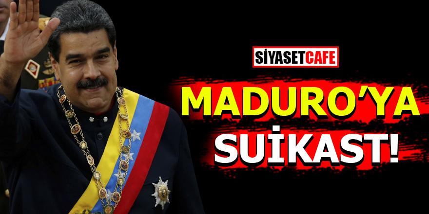 Venezuela Devlet Başkanı Nicolas Maduro'ya suikast!