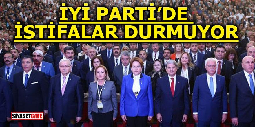 İYİ Parti'de istifalar durmuyor!