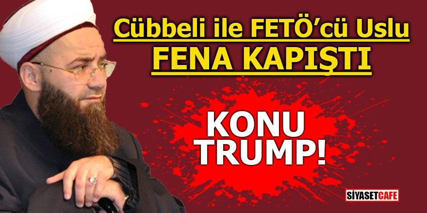 Cübbeli ile FETÖ'cü Uslu fena kapıştı! Konu Trump