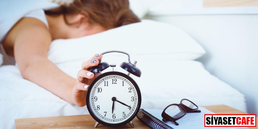 Uyuyamıyorsanız bir nedeni var!