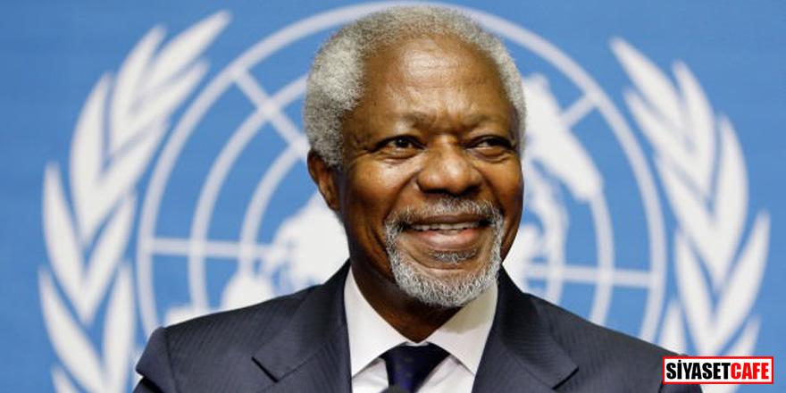 Kofi Annan öldü!