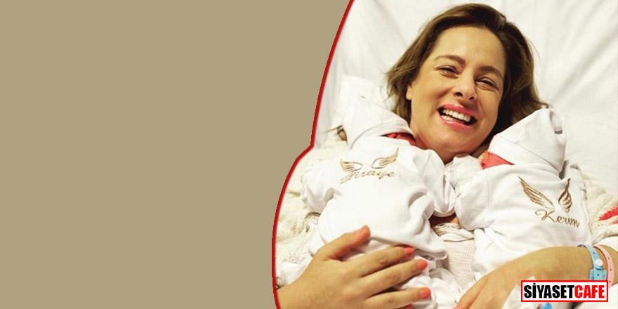 Doğa Rutkay 3 haftalık oğlunu sünnet ettirdi!
