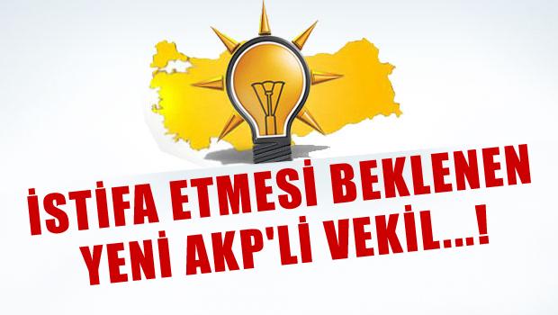AKP'den istifa edecek yeni vekil..