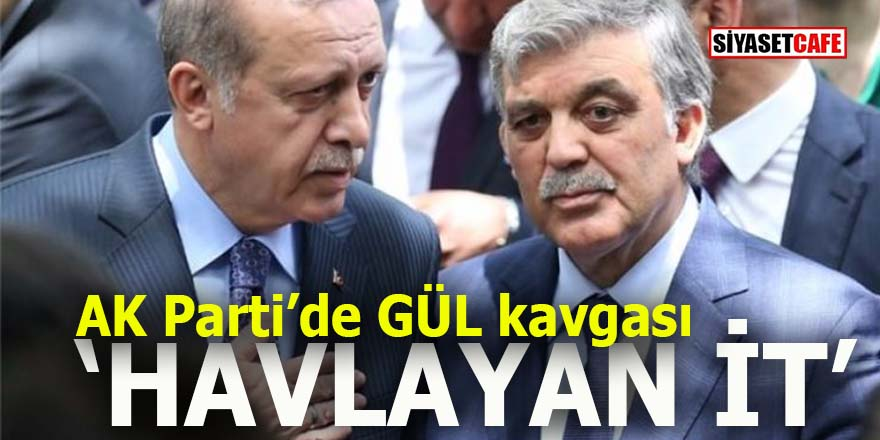 "AK Parti'de GÜL Kavgası: ""Havlayan it"""