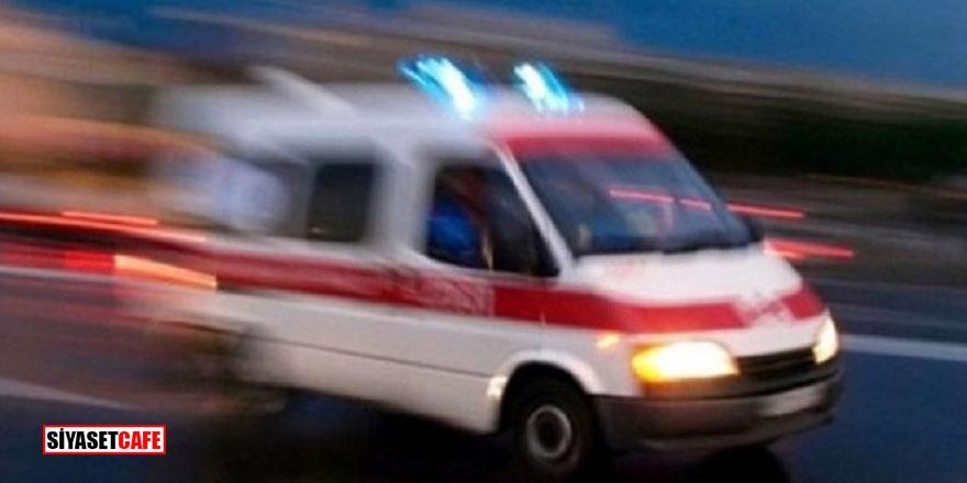 Gaziantep'te korkunç kaza! Otomobil yayalara çarptı