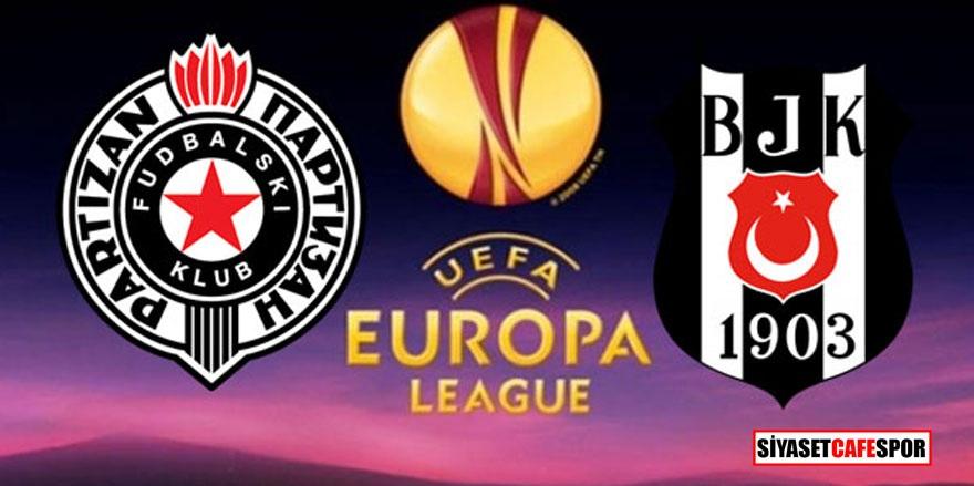 Partizan - Beşiktaş maçı hangi kanalda yayınlanacak? Açıklandı