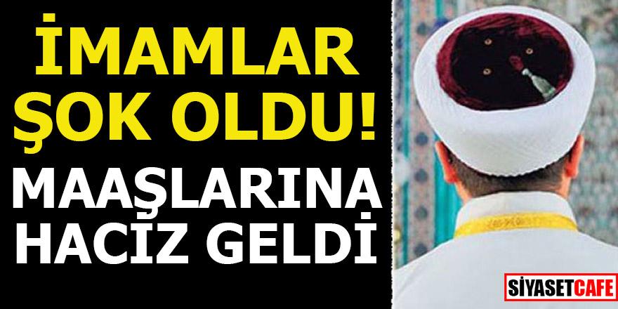 Aydın'da 4 imamın maaşına haciz geldi!