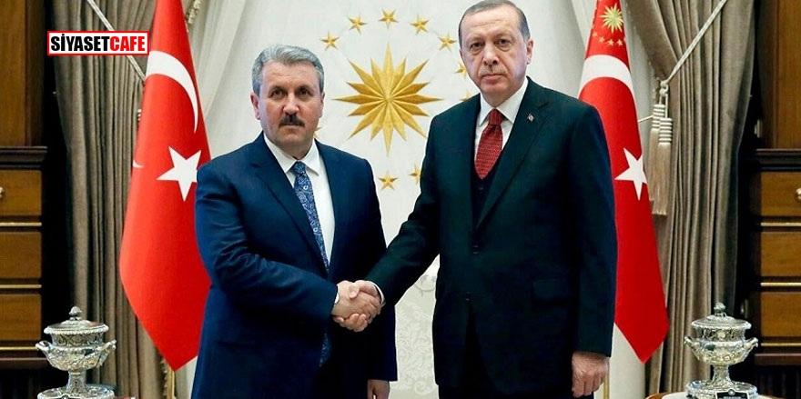 Mustafa Destici Erdoğan ile görüşecek mi?