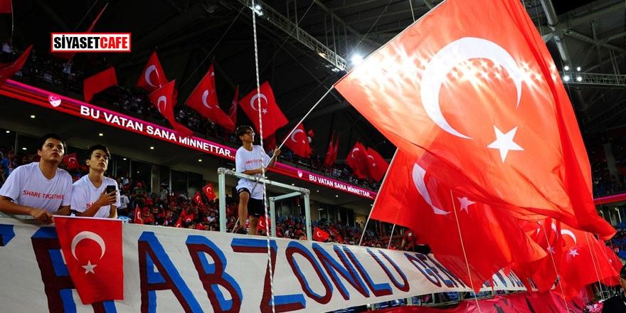 Trabzon'da olay pankart! TFF'ye büyük şok!