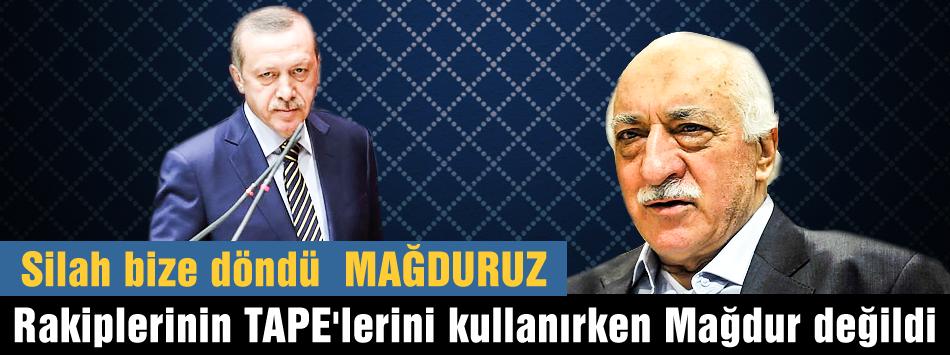 Erdoğan rakiplerinin kayıtlarını kullanmıştı