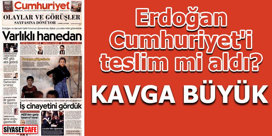 Erdoğan Cumhuriyet'i teslim mi aldı? KAVGA BÜYÜK