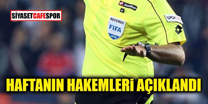 Süper Lig'de 5. haftanın hakemleri açıklandı