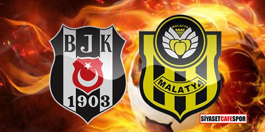 Beşiktaş – Yeni Malatyaspor maçı kaç kaç bitti?