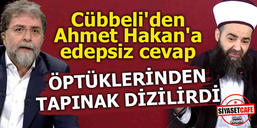 Cübbeli'den Ahmet Hakan'a edepsiz cevap!