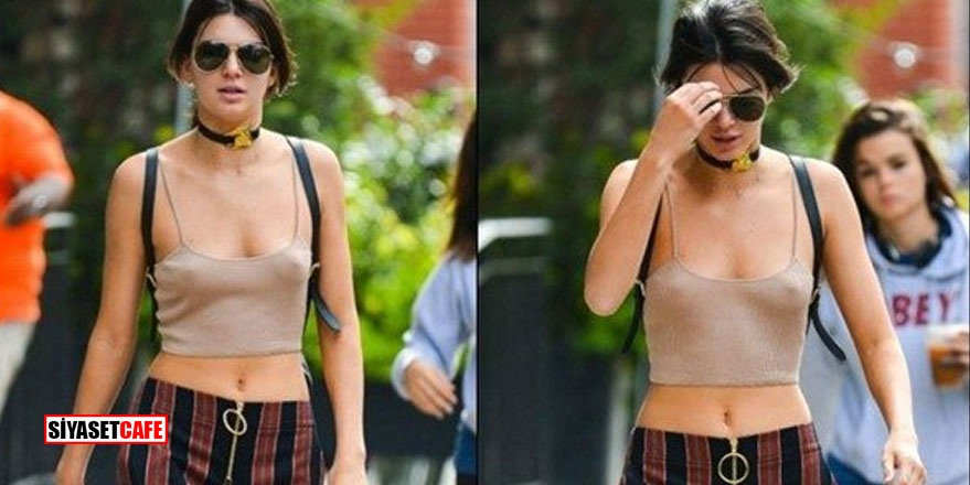 Manken Kendall'in banyo pozu nefes kesti!