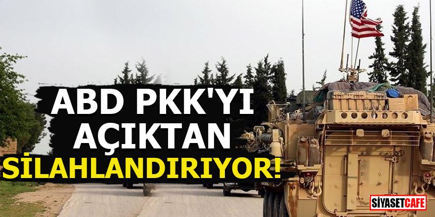 ABD, PKK'yı açıktan silahlandırıyor!