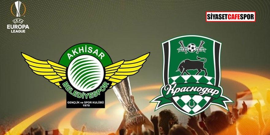 Akhisarspor – Krasnodar maçı saat kaçta hangi kanalda?
