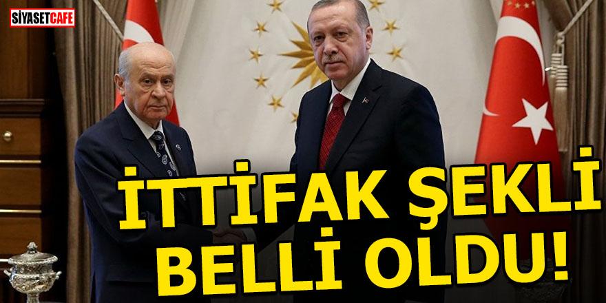 AK Parti- MHP ittifağının şekli belli oldu!