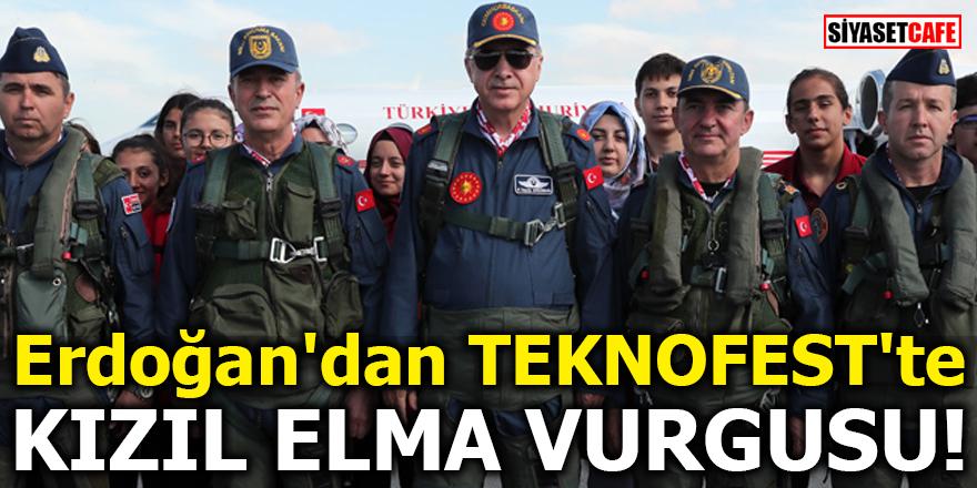 Erdoğan'dan TEKNOFEST'te Kızıl Elma vurgusu!