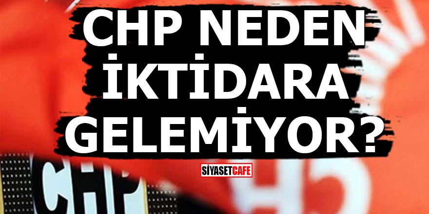 'CHP neden iktidara gelemiyor?'