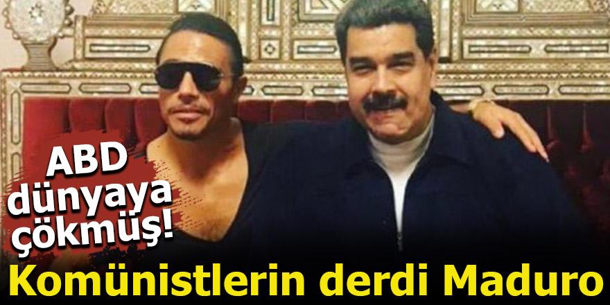 ABD dünyaya çökmüş! Komünistlerin derdi Maduro
