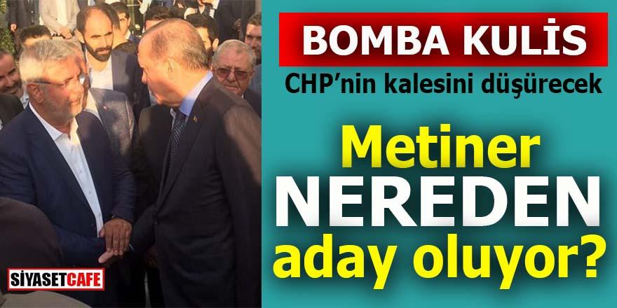AK Parti'de flaş gelişme: Mehmet Metiner nereden aday oluyor?