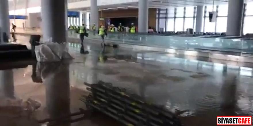 3. Havalimanı'nı su bastı!
