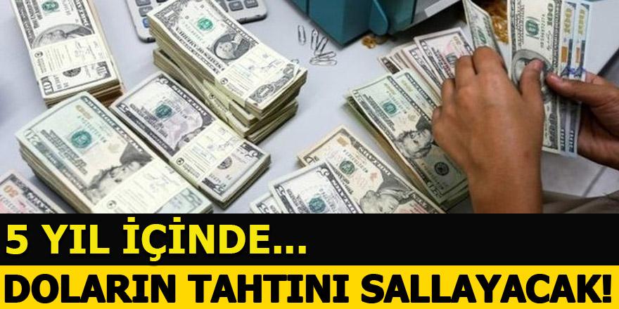 Doların tahtı 5 yıl içinde sallanacak!