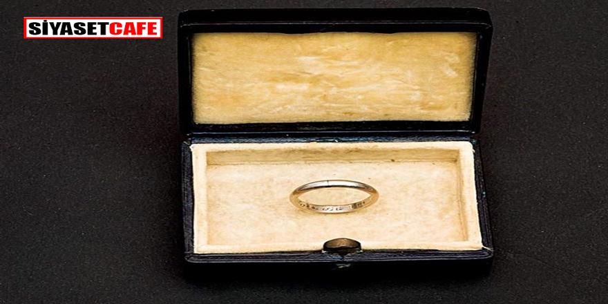 İşte Atatürk'ün Nikah Yüzüğü