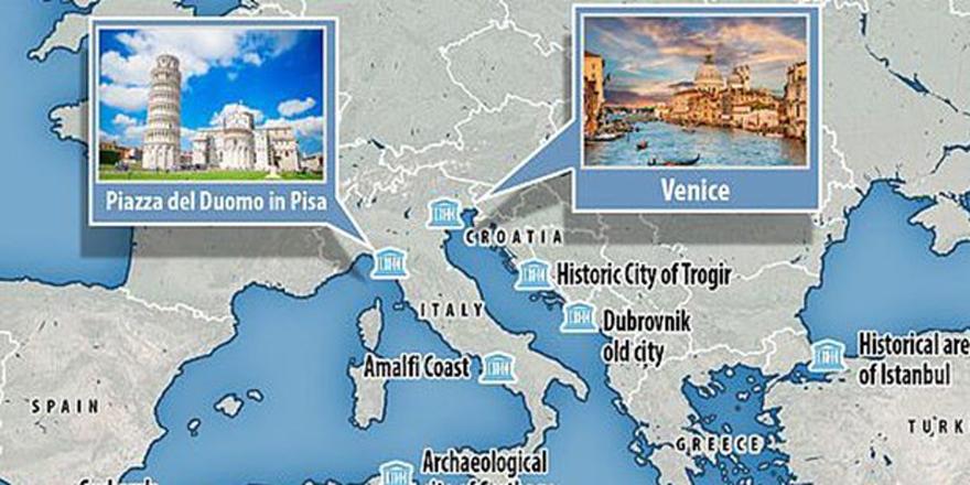 UNESCO Raporunda Ayasofya ve Efes Antik Şehri Risk Altında..!