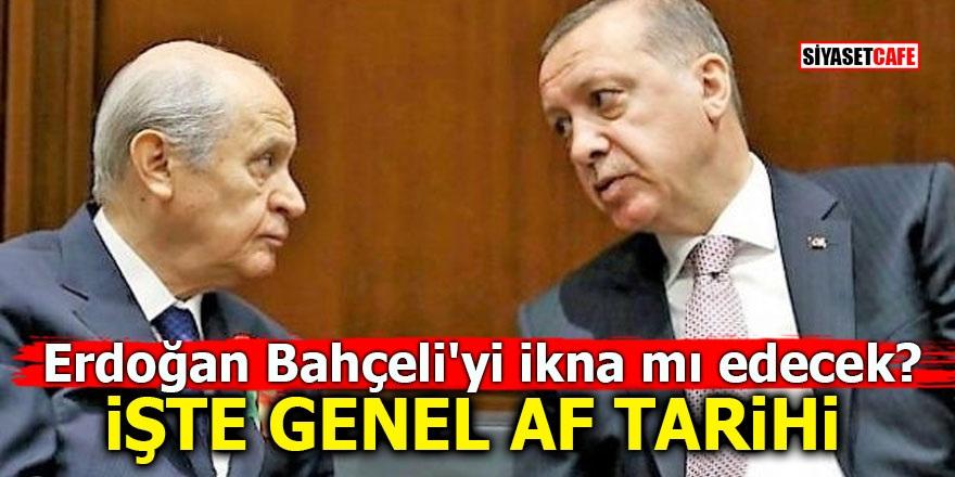 Erdoğan Bahçeli'yi ikna mı edecek? İşte genel af tarihi