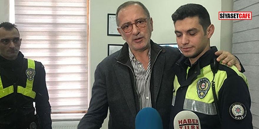 Fatih Altaylı özür diledi! Polis memuru bakın ne dedi!