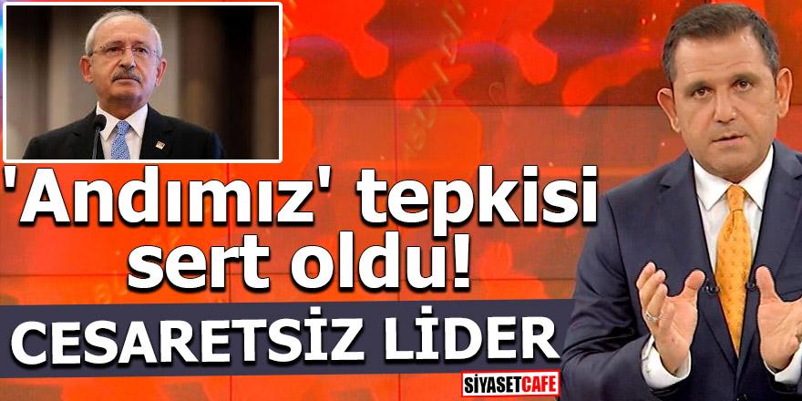 Portakal'dan Kılıçdaroğlu'na 'andımız' tepkisi! 'Cesaretsiz lider'
