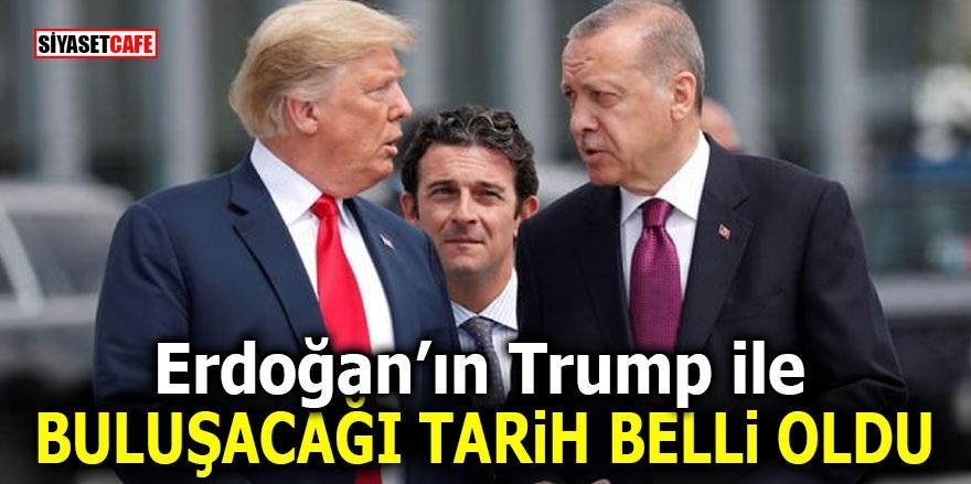 Erdoğan'ın Trump ile buluşacağı tarih belli oldu