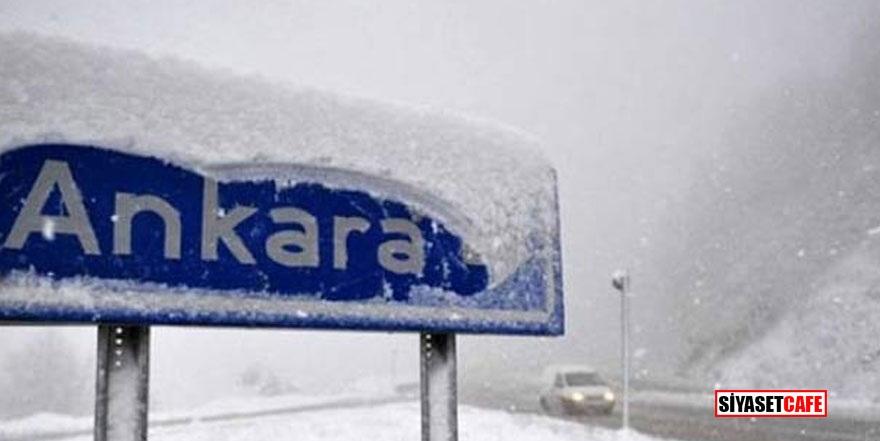 Ankara Valiliği'nden kar uyarısı! Okullar tatil edilecek mi?