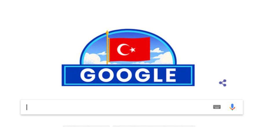 Google Cumhuriyet Bayramı'nı Bu Sene de Es Geçmedi
