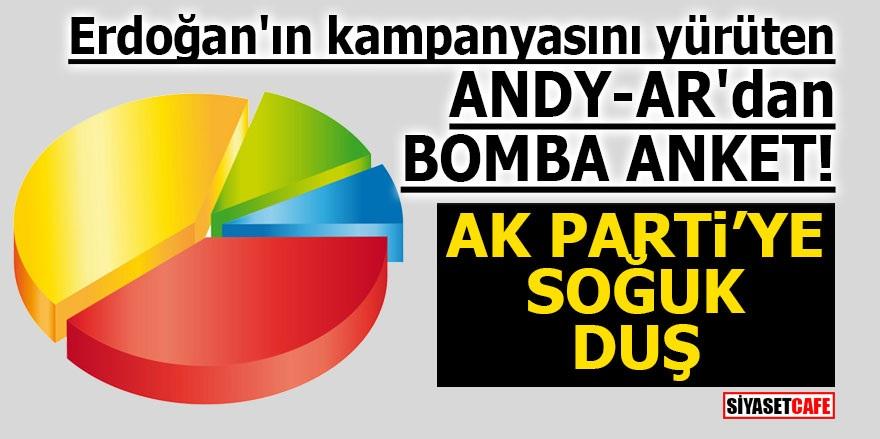 Erdoğan'ın kampanyasını yürüten ANDY-AR'dan bomba anket! Ak Parti'ye soğuk duş
