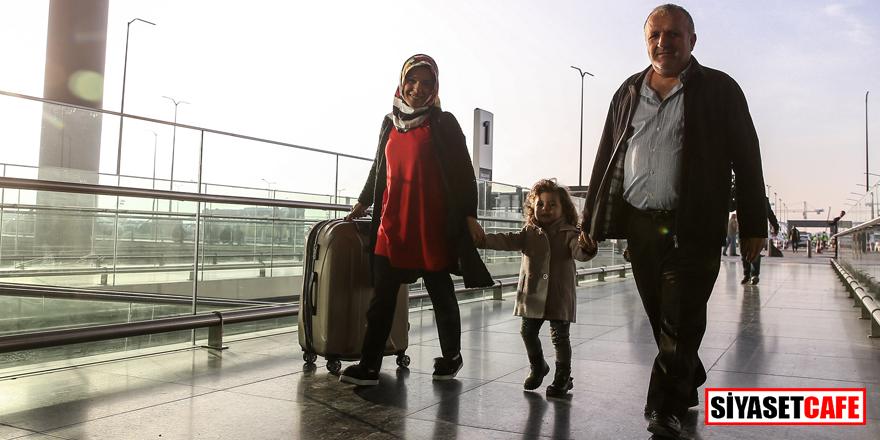 İstanbul Havalimanı'nda ilk yolcuları Bakan karşıladı!
