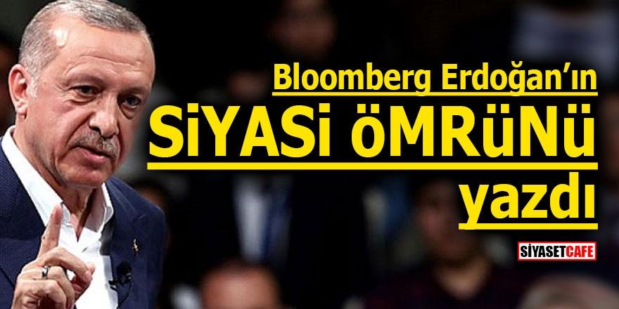 Bloomberg Erdoğan'ın siyasi ömrünü yazdı
