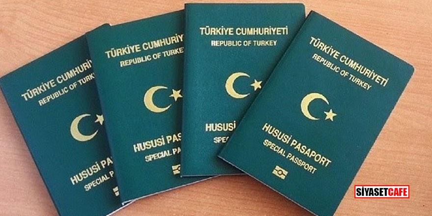 Yeşil pasaport alımında sürpriz değişiklik