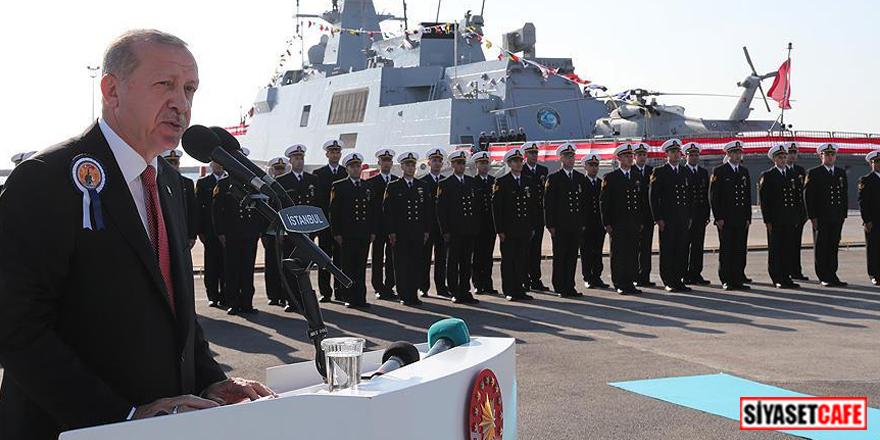 Milli savaş gemisi Burgazada, Deniz Kuvvetleri'ne teslim edildi!