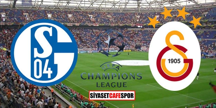 Schalke-Galatasaray maçı saat kaçta hangi kanalda yayınlanacak?