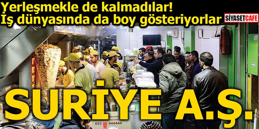 Suriyeliler Türkiye'de artık iş dünyasında da boy gösteriyor!