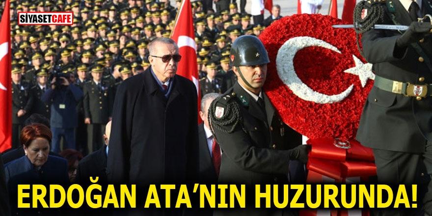 Erdoğan ATA'nın huzurunda!