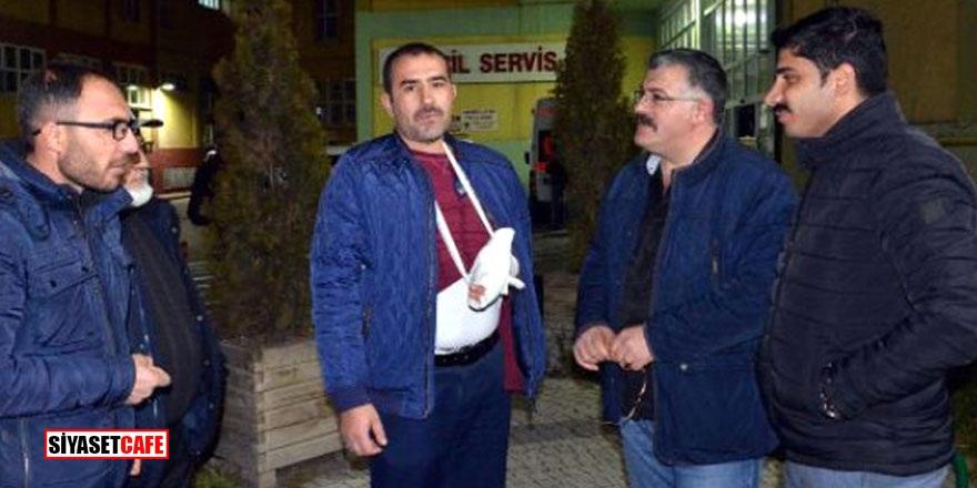 ŞOK! Otobüs şoförü Gazi Muhammed'i hastanelik etti