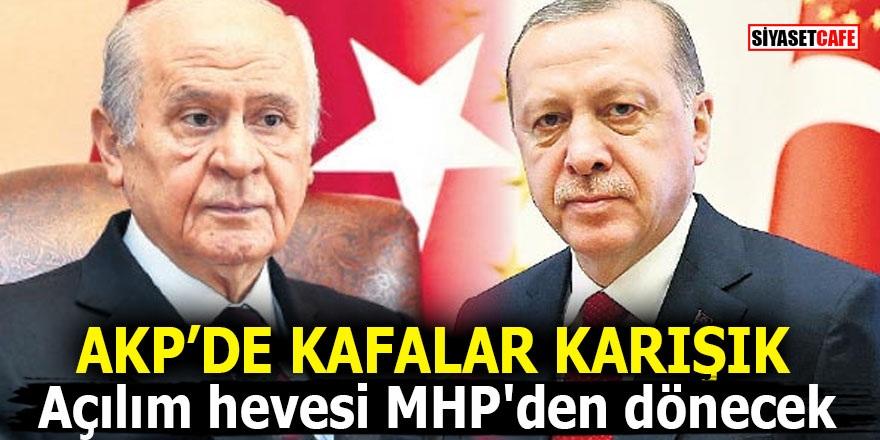 AK Parti'de kafalar karışık! Açılım hevesi MHP'den dönecek